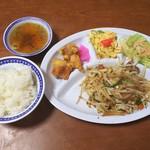 中華料理 哈爾濱 - 料理写真:野菜炒め昼定食650円
