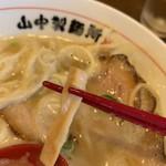 山なか製麺所 - メンマも〜(*´꒳.`*)ノあっぷ.。.:*☆