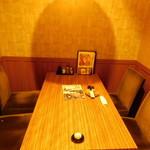 地鶏専門店 いいとこ鶏 - 店内1(個室)
