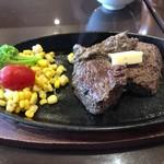 94605063 - Texasステーキ  150g  ライス・サラダ・アイスコーヒー付                       ランチ特別価格  ¥1,200-