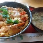94608714 - 海老丼  (味噌汁・漬物付き)