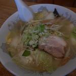 喰い呑み座 新山 - 塩野菜ラ~メン 600円