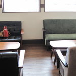 カフェ フェリーチェ - ソファ席でマッタリ