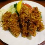 洋食のみかさ - 牡蠣フライ