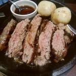 いきなりステーキ - 料理写真:ワイルドハンバーグ