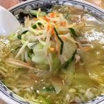 華風伝 - 「野菜ラーメン」大盛りで。