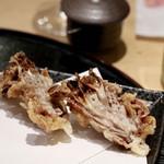天ぷらと日本酒 明日源 - 【天ぷら】肉巻き舞茸