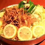 博多もつ鍋(広島塩レモン)