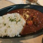 94616534 - 淡路産牛肉のハヤシライス [サラダ+スープ]
