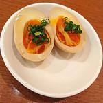 日本酒バル YODARE - 煮玉子