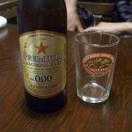 9462276 - クーポンにはドリンクが2杯ついています。連れはハンドルキーパーなので、ノンアルコールビールを頂きました。