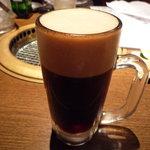 まめ牛 - 黒生ビール