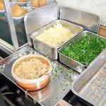 松下製麺所 - 薬味