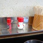松下製麺所 - 卓上