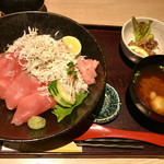 近畿大学水産研究所 - ランチは1650円。お味噌汁おかわりOKです(^o^)