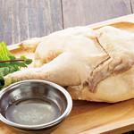 とり鉄 - 旨味たっぷり 若鶏の半身蒸し