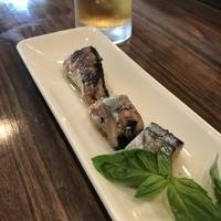 スタンディングバー オオタニ-北海道サンマのオリーブオイル煮(2018.10.15)