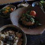 古民家空間 風楽 - 料理写真:セット1400円