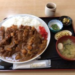 とんかつ山道 - メガかつカレー ¥1860