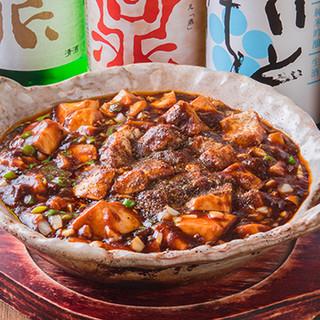 リピート率No.1の麻婆豆腐は自家製の味噌が決め手
