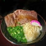 海宏 - ロース肉うどん[¥790]