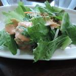 プルーカフェ - 別注のサラダ