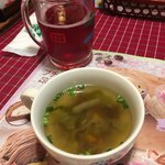 さわやか - 季節の野菜スープ、乾杯ドリンク