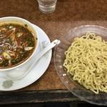 時ちゃんラーメン - つけ麺(四川風担々麺)