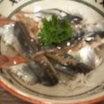 酒屋の酒場 - 秋刀魚刺身