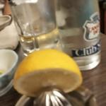 酒屋の酒場 - レモンサワー