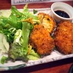 魚酒場ピン - 南瓜チーズ入りコロッケ