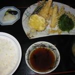 金時 - 並 天ぷら定食 900円