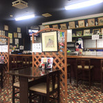 食堂 大江山 - 店内の雰囲気
