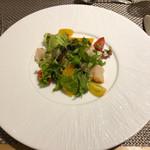 94642697 - 北海道帆立貝のグリルと彩り野菜