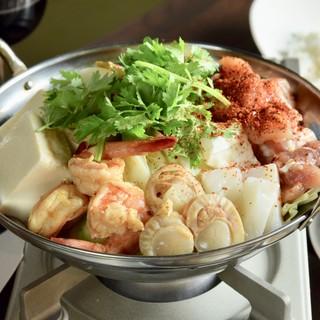 【辛さ選べる】激辛!海鮮トムヤム鍋