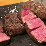 94643055 - 牛ランプ肉の炭火焼