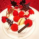 「ザ パーク」テイクアウトコーナー - クリスマスショートケーキ