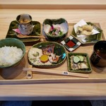 日本料理 水嶋 - 料理写真:「ランチ季節御膳 (1500円)」