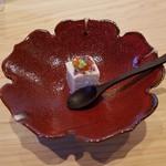 日本料理 水嶋 - 「自家製胡麻豆腐」