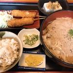 川よし - 料理写真:いもきしめん定食
