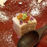 日本料理 水嶋 - イクラなどで彩りされてます