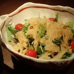 すりおろし野菜ドレッシング 生野菜サラダ