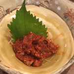 魚一座 - 料理写真:チャンジャ