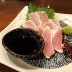 酒場 ひとすじ - 香潤鶏の刺身⋆