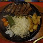 片桐 - ステーキ御膳¥990!