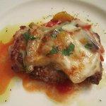 9465520 - 若鶏のポアレ 野菜とチーズの重ね焼き トスカーナ風