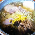 まるあさ食堂 - 塩ラーメン('09/10訪問)
