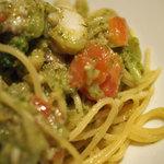 Casa tua Satoh - 真ダラとブロッコリーのオリーブオイルソーススパゲティ