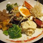 Casa tua Satoh - 季節野菜の前菜盛り合わせ