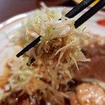 キッチン すみっこ - ロース生姜焼き定食(900円)